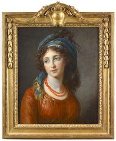 Louise Elisabeth Vigée Le Brun - Ritratto di Aglae de Polignac 58f7b7bc6620