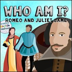 With old-time language and extravagant names, Shakespeares characters can seem tricky for students to remember. Help them review these characters with a fun Who Am I? game featuring the fictional cast of Romeo and Juliet. Students each have a game sheet with boxes for the plays salient characters.