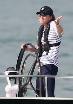 When Kate Middleton beat Prince William at a boat race in New Zealand.