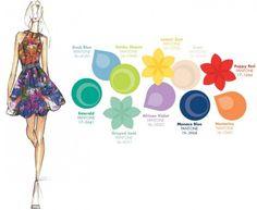 Tendenze Primavera/Estate 2013, i colori alla moda secondo il Fashion Color Report di Pantone [FOTO]