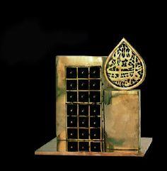 Parviz Tanavoli. Iranian (Persian) renowned sculptor and artist.