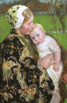 gari melchers mother and child   Gari+Melchers+(1860-1932)+Motherhood.jpg