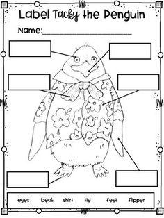 Tacky the Penguin - Totally Tacky Literacy Activities ...