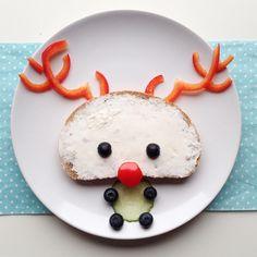 Reindeer-breakfast Reinsdyr-frokost☺️❤️