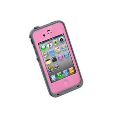 Pink LIFEPROOF iPhone4S case