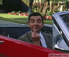 16 GIFs of Mr Bean to die of laughter (page - Photography - Humor Funny Quotes, Funny Memes, Hilarious, Jokes, Fun Funny, Funny Tweets, Funny Videos, Middle Finger Gif, I Laughed