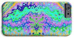 phone cases in flowing life art design by julia woodman on fineartamerica