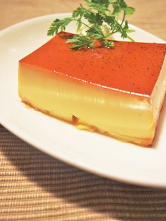 Japanese Pudding Recipe, Pudding Recipes, Bread Recipes, Flan, Sweets Recipes, Desserts, Yummy Cakes, Panna Cotta, Sweet Tooth