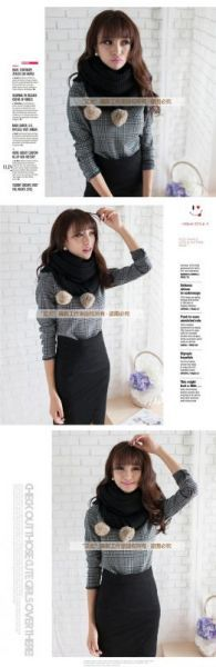 Order hàng Khăn choàng cổ len thỏ Hàn Quốc ấm áp dễ thương uy tín Xem thêm tại http://dathangtaobao.vn/khan-choang-co-len-tho-han-quoc-ap-de-thuong/