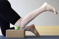 If you have knee pain, we've got a remedy for you. Called the kneady ball, this therapy ball (or tennis ball) massage developed by Jill Miller for the Rx Series class at Equinox gyms eases stiffness and soreness, allowing you to move like your old self again.