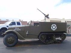 Battlefield Vegas - Las Vegas, NV, United States. Half track in the parking lot