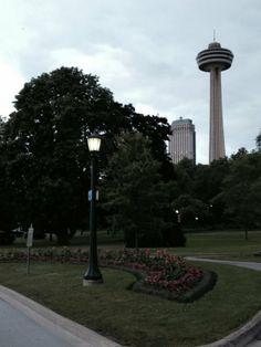 The Skylon Tower in Niagara Falls Canada Haunted Maze, Niagara Falls, Places Ive Been, Tower, Canada, Adventure, Park, Beautiful, Rook