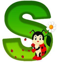 David Zinn, Ladybug Picnic, Alphabet Pictures, Alphabet Wallpaper, Star Background, Alphabet And Numbers, Alphabet Letters, Jungle Theme, Flower Pots