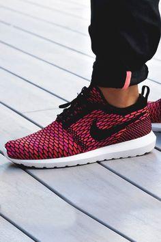 #Nike #Flyknit #Roshe Run