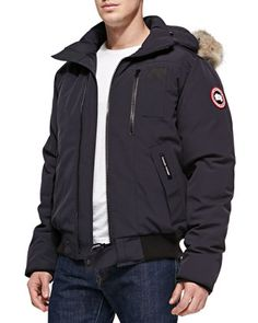 Canada Goose' Borden Bomber - Men's Small - Graphite