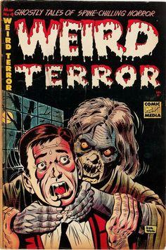 Weird Terror, Pre-code horror comics
