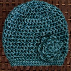 The Martha Beanie with Gloves I was looking for a good pattern to crochet in an hour and stumbled upon this one! The beanie itself too just shy of an hour and the flower was another 20 minutes. Pretty decent for a soectacular looking 1 hour hat. There are matching gloves to go along with …