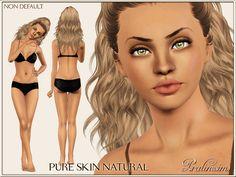 Pralinesims' Pure Skin Natural NON DEFAULT