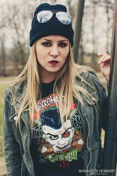 Image By Bernadette Newberry Photography Model Styling By Lucillian Grunge Fashion Heavy Metal Punk Rock