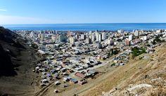 Vista panorámica de la ciudad de Comodoro Rivadavia
