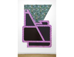 Untitled, 2015 Fabric, Plexiglas, enamel paint, and spray paint 105 3/4 x 72 in (268.6 x 182.9 cm)Previous  Next 3 of 47