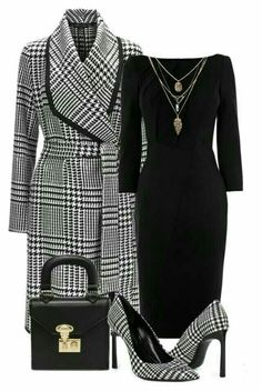Luxury Fashion Spotlight – Iconic Style Inc. - Luxury Fashion Spotlight – Iconic Style Inc. Read more to find out how to style iconic staple - Business Outfits, Business Attire, Business Fashion, Mode Outfits, Fall Outfits, Modelos Fashion, Elegantes Outfit, Church Outfits, School Outfits
