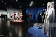 Costumes on display at the 'Art of Motion Picture Costume Design' exhibition on January 31, 2004 at Fashion Institute Of Design & Merchandising/FIDM in Los Angeles, California. (Photo by Giulio Marcocchi/Getty Images).