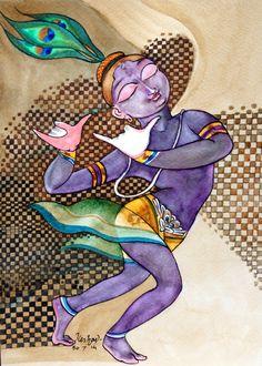Experiments with Krishna series. #krishnafortoday
