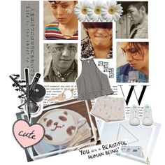 I'm Glad You're Back by creamynoir on Polyvore featuring moda, Zara, Maison Margiela, WALL, bigbang, kpop and yg