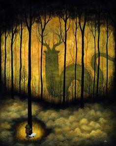 Лесные духи  Энди Кехо (Andy Kehoe) http://www.andykehoe.net