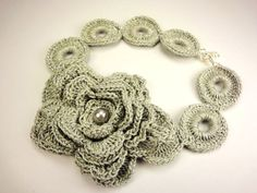 Crochet Necklace - ispiration