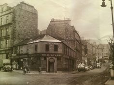 Crichton Street at Whitehall Crescent, Dundee.