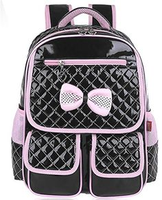Vere Gloria Children School Backpack Bags for Primary Girls Students PU Leather Bow (Black) Vere Gloria http://www.amazon.com/dp/B00SKVO7ZA/ref=cm_sw_r_pi_dp_xsN9vb0GBJPY0