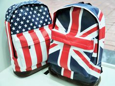 3456ccc4c3961c US  10.02  Fashion american flag vintage casual backpack student school bag  backpack travel bag United States British-in Backpacks from Luggage   Bags  on ...