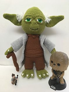 Crochet Pattern Yoda The Wise One Crochet Crochet Crochet