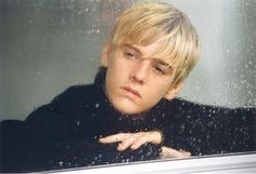 Aaron Carter in his music video, I'm All About You.