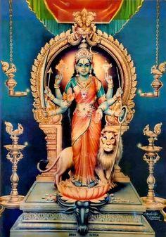 Durga Maa, Shiva Shakti, Hindu Deities, Hinduism, Krishna Birth, Sai Baba Wallpapers, Navratri Images, Kali Goddess, Krishna Painting
