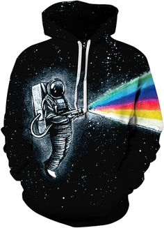 Unisex Patterns Printed Autumn Winter Casual Pullover Hooded Sweatshirts High Quality Hoodies Long Sleeve T Shirts. (Creative Printed Graphic Galaxy Tree Waves Wolf Lion Shirts, S/M, L/XL, Available). Hoodie Sweatshirts, Epic Hoodies, Long Hoodie, Black Hoodie, Grey Sweatshirt, Lion Shirt, Birthday Fashion, Rainbow Print, Hooded Jacket