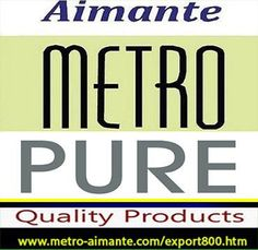 Metro Aimante manufacturing pure magnetic health therapy bracelets worldwide export