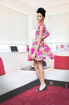 African Prints in Fashion: Lollipop Fashion: Dpipertwins Spring/Summer 2013