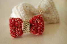 手編みリボン