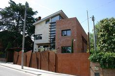 clôture de jardin en acier corten pour votre espace extérieur