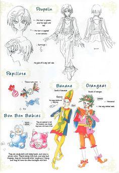 Sailor Moon Art Book BSSM Original Picture Collection: Materials Collection Page 1 Sailor Moon Villians, Sailor Moon Manga, Sailor Neptune, Sailor Uranus, Sailor Moon Art, Sailor Moon Crystal, Sailor Mars, Character Concept, Character Design