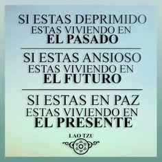 pasado?futuro? qué tal si empezamos por el presente?