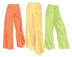 Linen Palazzo Pants > Pants | The J. Peterman Company