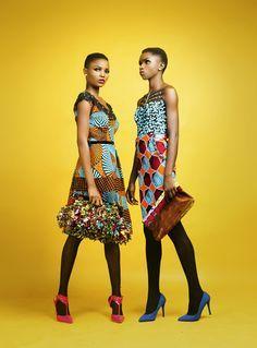 Élégance africaine- style coloré et graphique