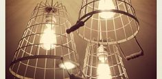 Neat idea using wire baskets