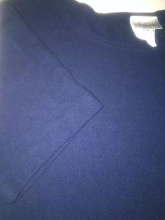 Eileen Fisher Designer Women's Short Sleeve Sweater Top Size Large Navy Blue | eBay