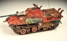 German E50 Panther Tank by Adam Wilder