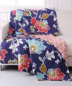 Phoebe Quilted Throw